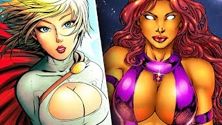 10 Times Marvel and DC Sexualized Their Superheroes!
