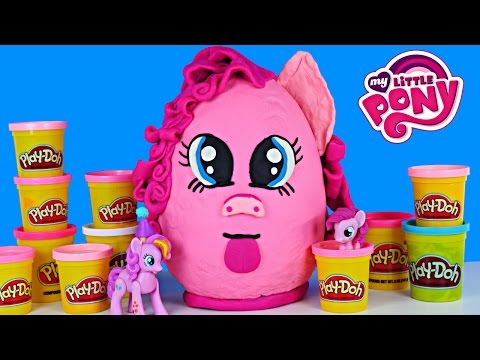 Giant Egg My Little Pony Play Doh Surprise Frozen Shopkins Hello Kitty Zelfs Fashems video