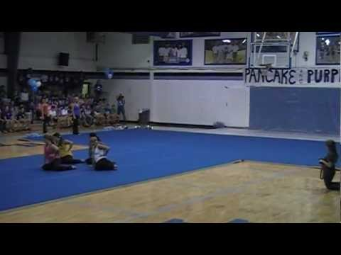 Houston Academy Raiderette Dance Team- Party Rock Anthem - 08/03/2012