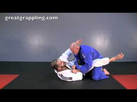 Closed Guard Sweep Lapel Feed Power Sweep