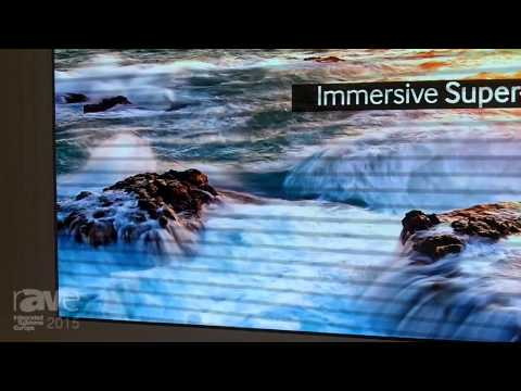 ISE 2015: Samsung Exhibits Their New LED Signage Solution with 1.1 Pixel Pitch