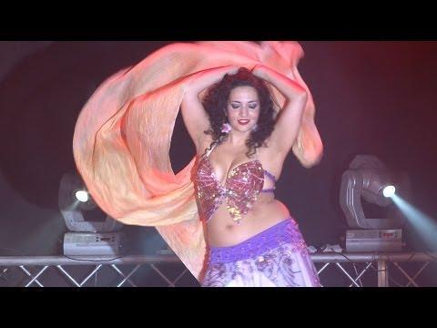 Yael Becker Habibi Ya Eini Bellydance 2012 video