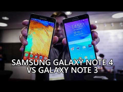 Samsung Galaxy Note 4 vs Galaxy Note 3 - Quick Look