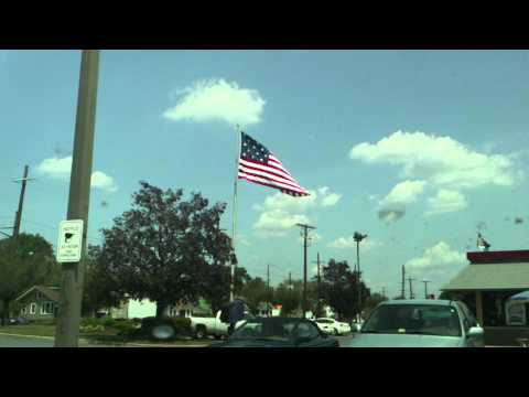 Check out this flag flying over my local BK. This video was uploaded from my LG Optimus Android phone ( You can watch this in 720p baby!).