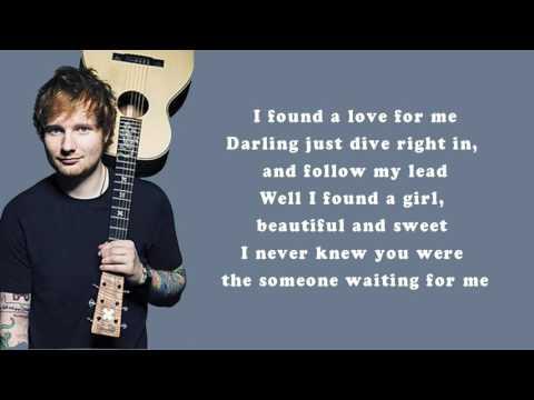 Ed sheeran - perfect (Musics) HD