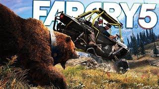 Far Cry 5 - Operation Road Kill - Exploring The Far Cry Wildlife - Far Cry 5 Gameplay Highlights
