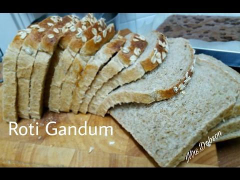 Resep Roti Tawar Gandum /Wheat Bread