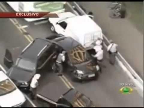 Tiroteo Mafioso brasileño con la policia