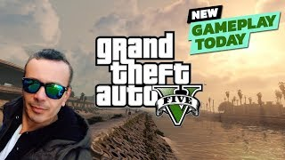 Grand Theft Auto 5 Gameplay (PS3) #1