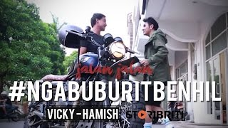 Download Lagu Vicky Nitinegoro dan Hamish Daud - Jalan-jalan #NgabuburitBenhil Gratis STAFABAND