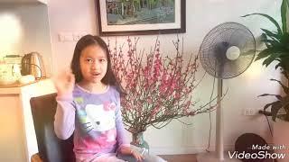 Happy new year 2018 - Tan Huong Giang 1A1 Vinschool The Harmony