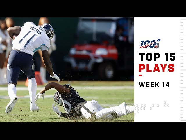 Top 15 Plays from Week 14  NFL 2019 Highlights