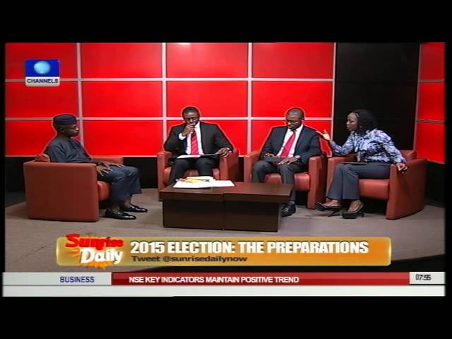 Osinbajo Says 'Nervousness' Responsible For PDP's Accusations Pt.2
