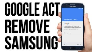 December 2016 - WITHOUT OTG, Remove, Disable, Bypass Google Account Lock FRP on any Samsung phone.