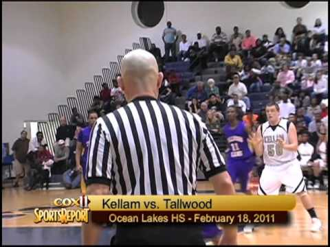 Boys Basketball:  Tallwood vs. Kellam