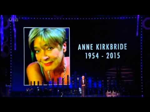 Anne Kirkbride (Deirdre Barlow) Tribute @ The NTA Awards (FULL)