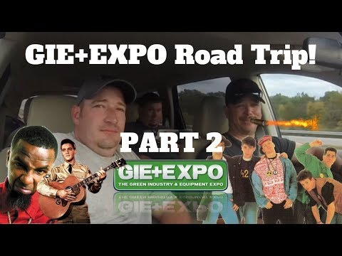 GIE+EXPO 2017 | Funniest Road Trip Ever! PART 2