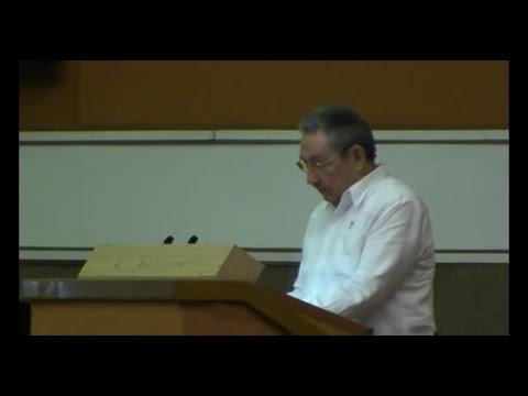 Raúl Castro: Cuba trabaja en la actualización de su política migratoria. (Discurso 3ra Parte)