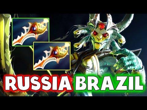 VP vs PAIN - RUSSIA vs BRAZIL + RAPIERS - WESG 2018 DOTA 2