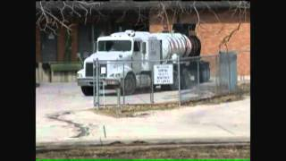 Fluoride spill at water facility literally burns holes in parking lot cement