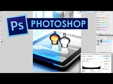 Tutorial Photoshop in Italiano – Le maschere di livello – Video 01