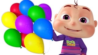 Five Little Babies Blowing A Balloon   And Many More Baby Songs   3D Rhymes For Children