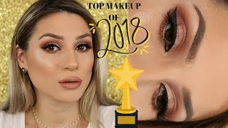 FAVOURITE MAKEUP PRODUCTS OF 2018 + TUTORIAL || GIO DREVELI ||