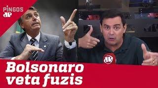 Bolsonaro ajusta decreto das armas