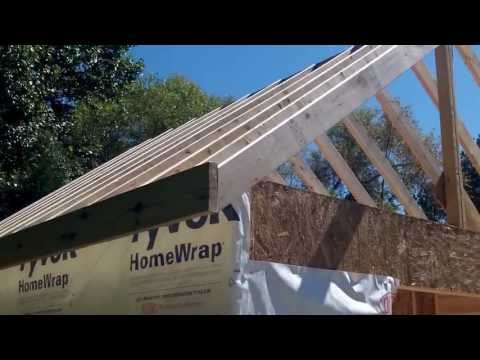 DIY Shed - Part 4a - Roof Framing