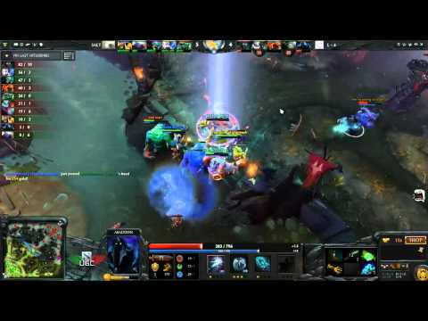 Lamperkat + 4 Rude Dudes vs. Salt Miners UGC Western Invite Game 1 - Casted by Cptn.Canuck