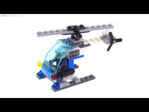 LEGO City 2017 Police Helicopter polybag review 🚁 30351