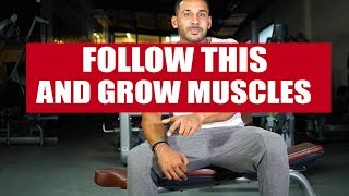 Follow this and grow muscles in days