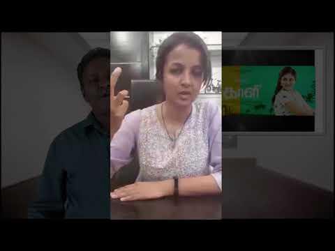 Kiruthiga Udhayanidhi Reviews Blue Satta Maaran - Kaali ReReview - Tamil Talkies
