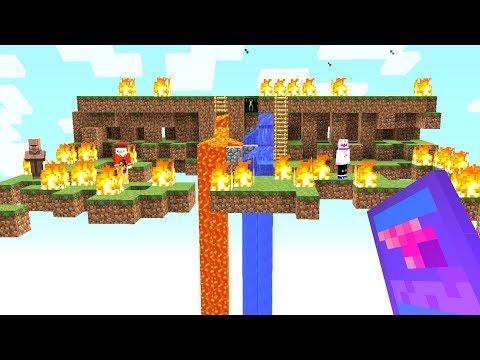 Wir Trollen das andere Team mit lustigen Items😂.. Minecraft LUCKY BLOCK BEDWARS
