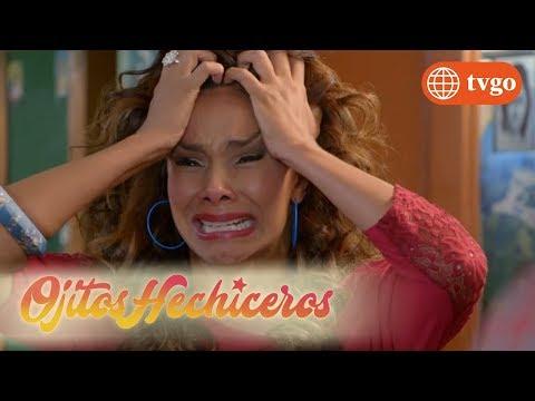 ¡Clarissa se vuelve loca al saber que Kevin ha fallecido! - Ojitos hechiceros 18/04/2018