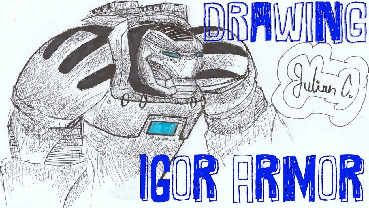 Iron Man Hulkbuster Drawing Drawing Igor Dibujando a