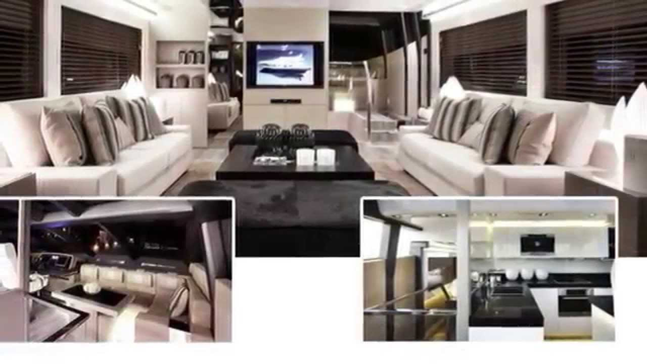 Pearl 75 Motor Yacht Interiors Design By Kelly Hoppen YouTube