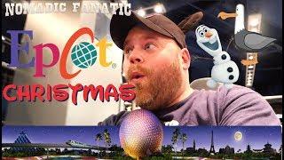 Epcot Christmas in Disney World