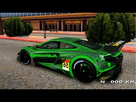 GTA San Andreas - McLaren 650S GT3 Alien PJ EnRoMovies