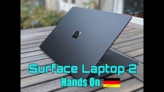Surface Laptop 2 Test - Surface ist das neue Black