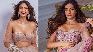 Sonam Kapoor Photoshoot glimpse  for Shaila khan Designer