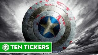 Top 10 nhân vật từng phá hỏng khiên của Captain America | Ten Tickers No. 75
