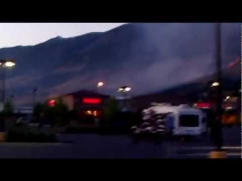 Centerville Utah Wildfire 06/11/2012