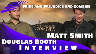 Pride and Prejudice and Zombies: Matt Smith & Douglas Booth Interview