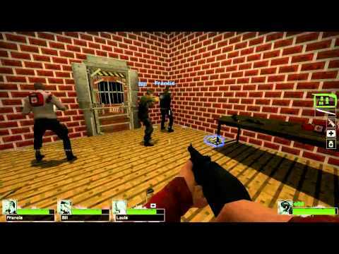 L4D2 Dead Mines playthrough part 1 (Minecraft)