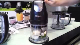Ninja master prep professional - dicing onion, garlic and basil