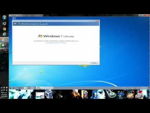 como actualizar windows 7 starter a la vercion ultimate.sin formatear