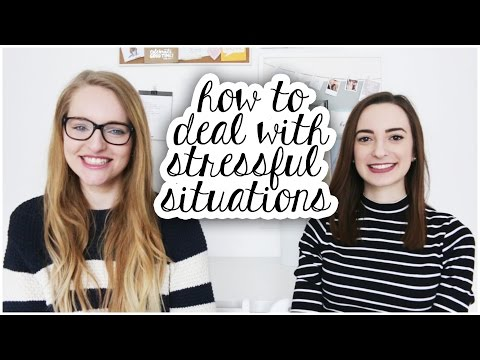 How to deal with stressful situations feat. Smayjay   Tips & Advice