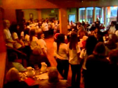 Oak Harbor High School Choir Sings for Soroptimist International of Oak Harbor