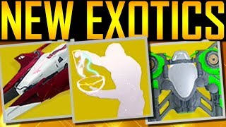 Destiny 2 - EXOTIC SPARROWS, SHIPS AND EMOTES!